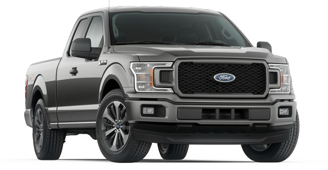 2019 Ford F-150 STX Supercab 4X4  shown