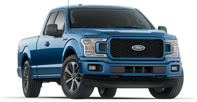 2019 Ford F-150 shown