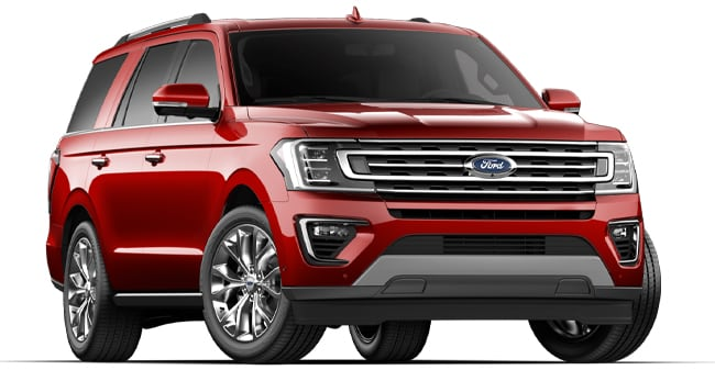 2019 Ford Expedition Limited shown