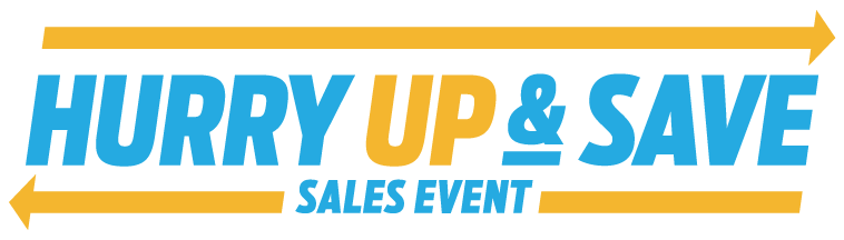 Hurry Up and Save Sales Event