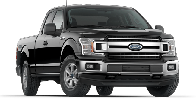 2019 Ford F-150 XLT SuperCab shown