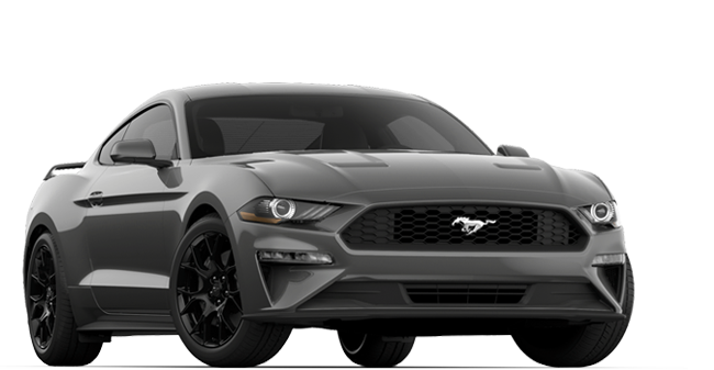 2019 Ford Mustang Eco Boost Fastback shown
