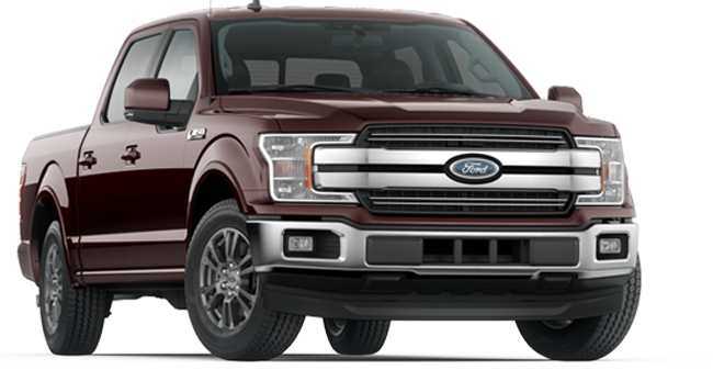 2019 Ford F-150 Lariat SuperCrew shown
