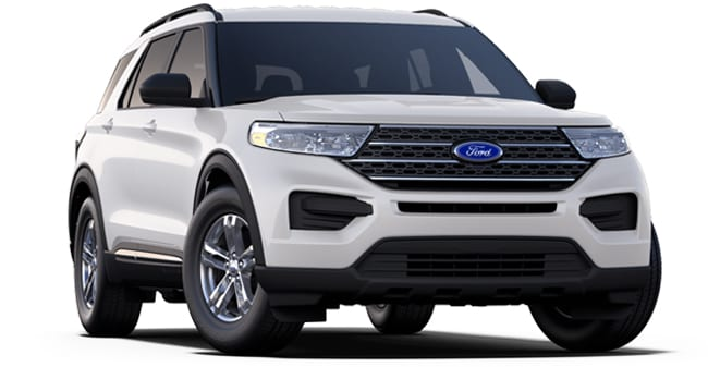 2020 Ford Explorer XLT shown