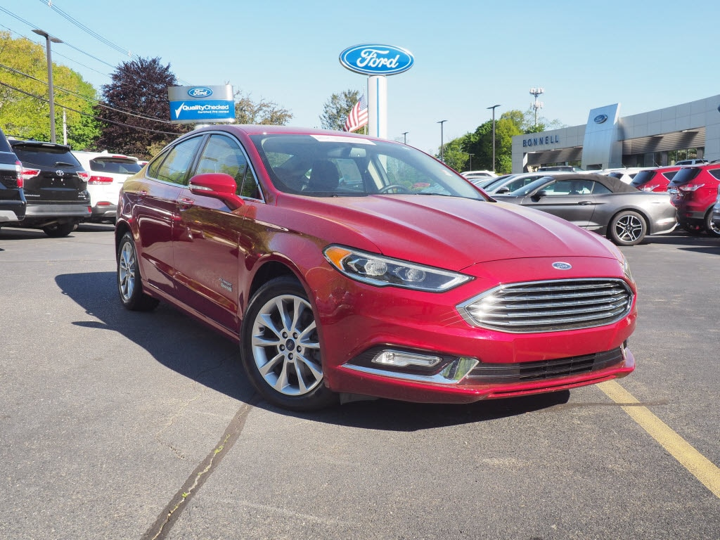 2017 Ford Fusion Energi SE Luxury SE Luxury  Sedan