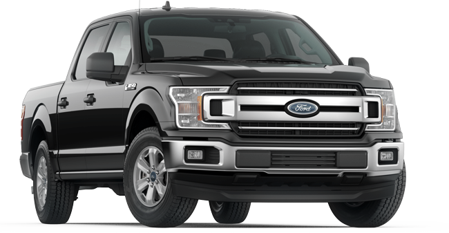 2019 Ford F-150 XLT Supercrew shown