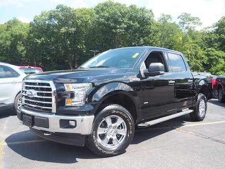 2017 Ford F-150 XLT 4x4 XLT  SuperCrew 5.5 ft. SB