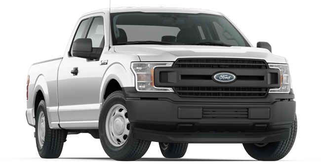 2019 Ford F-150 XL Supercab shown