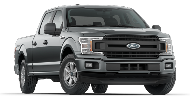 2019 Ford F-150 SuperCrew shown
