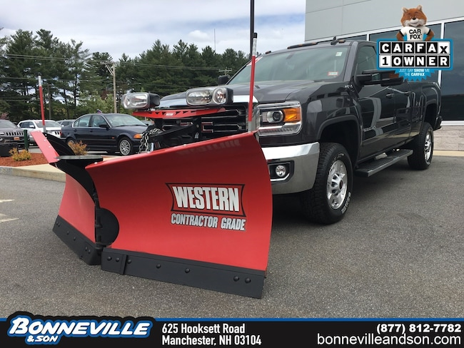 Used 2016 GMC Sierra 2500HD SLE Truck Double Cab in Manchester, NH