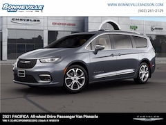 New 2021 Chrysler Pacifica PINNACLE AWD Passenger Van for sale in Manchester, NH