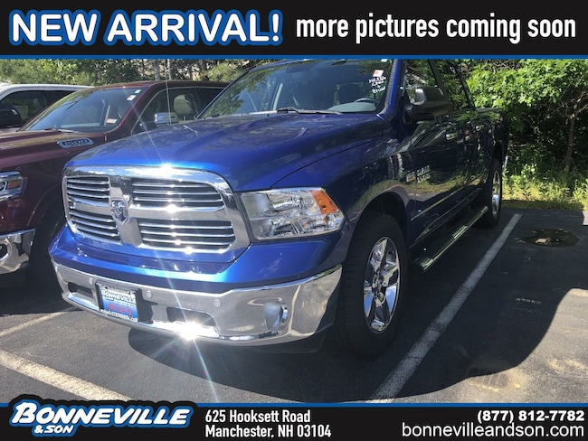 Used 2016 Ram 1500 Big Horn Truck Crew Cab in Manchester, NH