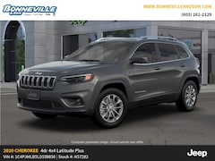 New 2020 Jeep Cherokee LATITUDE PLUS 4X4 Sport Utility in Manchester, NH