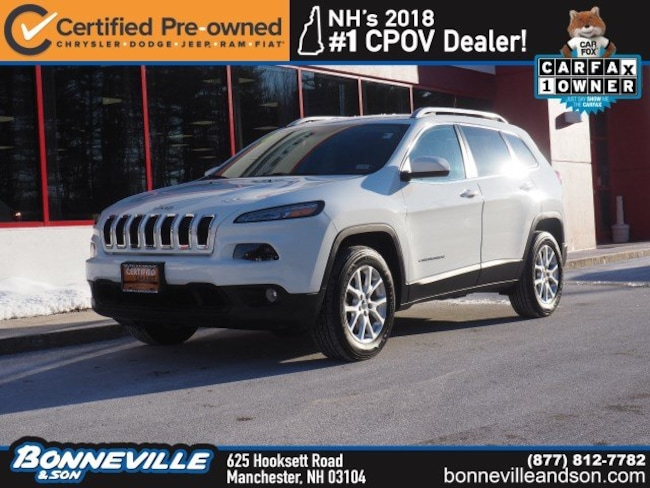 Certified Pre-Owned 2016 Jeep Cherokee Latitude SUV in Manchester, NH