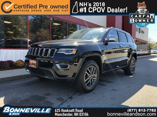 Certified Pre-Owned 2019 Jeep Grand Cherokee Limited SUV in Manchester, NH