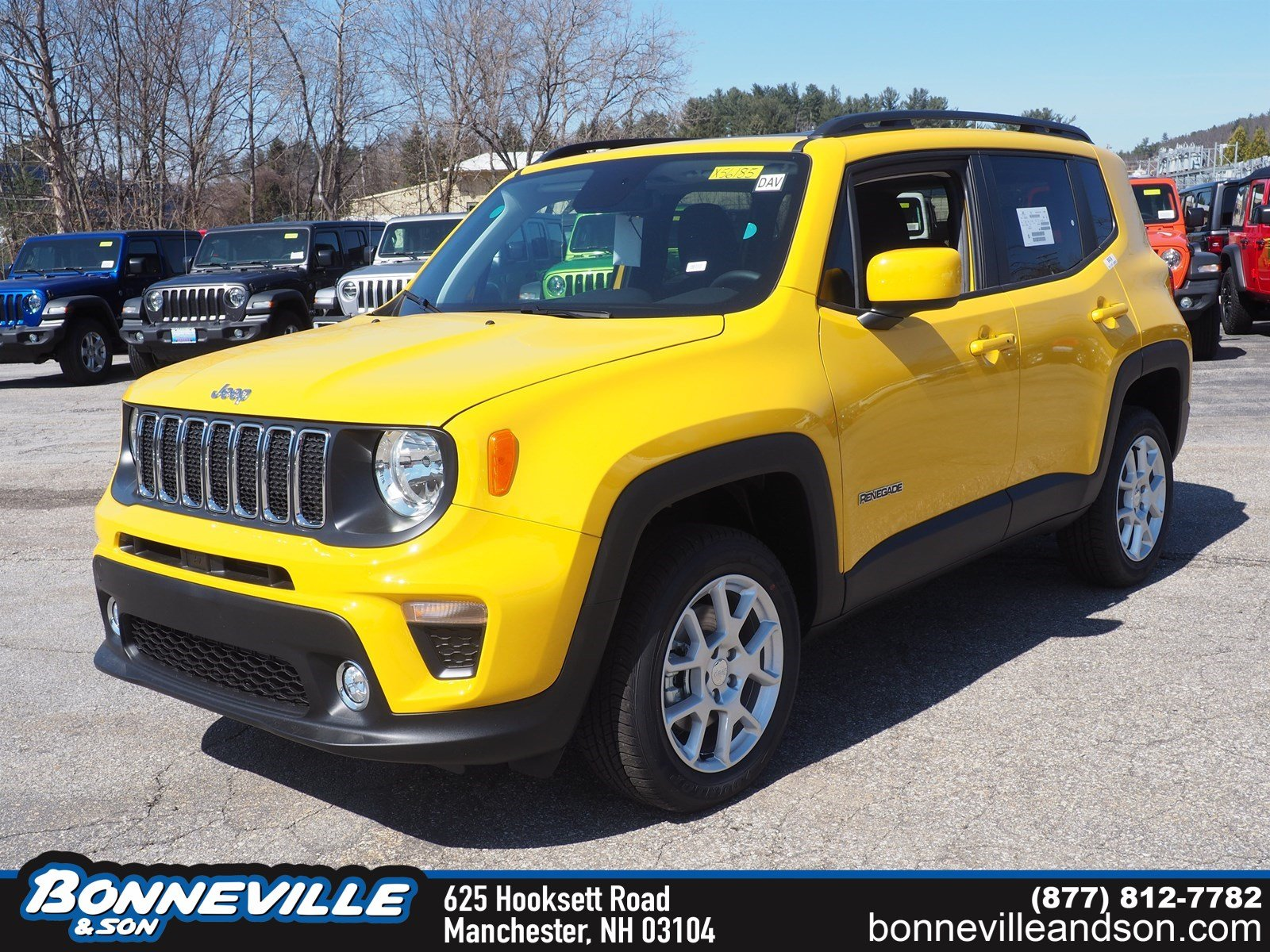 New 2019 Jeep Renegade LATITUDE 4X4 Sport Utility in Manchester, NH