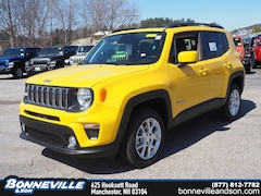 New 2019 Jeep Renegade LATITUDE 4X4 Sport Utility for sale in Manchester, NH