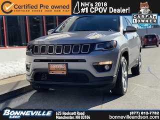 Certified Pre-Owned 2018 Jeep Compass Latitude SUV in Manchester, NH
