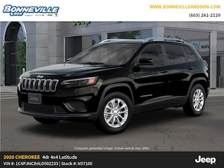 New 2020 Jeep Cherokee LATITUDE 4X4 Sport Utility in Manchester, NH