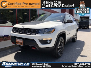 Certified Pre-Owned 2019 Jeep Compass Trailhawk SUV in Manchester, NH