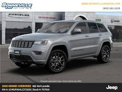 New 2020 Jeep Grand Cherokee ALTITUDE 4X4 Sport Utility in Manchester, NH