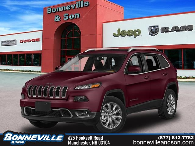 New 2018 Jeep Cherokee LIMITED 4X4 Sport Utility in Manchester, NH