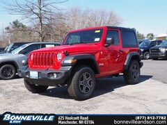 New 2018 Jeep Wrangler SPORT S 4X4 Sport Utility in Manchester, NH