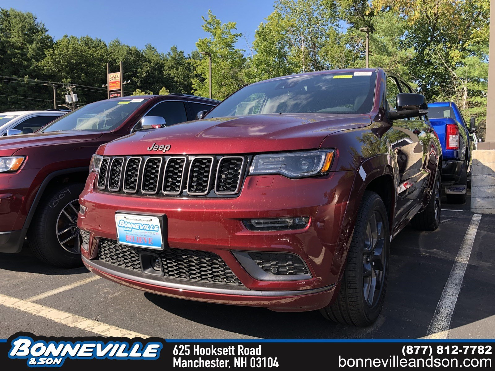 New 2019 Jeep Grand Cherokee LIMITED X 4X4 Sport Utility in Manchester, NH