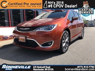 Certified Pre-Owned 2018 Chrysler Pacifica Limited Van in Manchester, NH