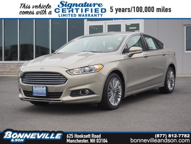 Used 2015 Ford Fusion SE Sedan in Manchester, NH