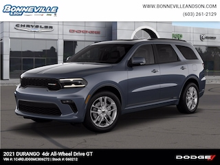 New 2021 Dodge Durango GT PLUS AWD Sport Utility in Manchester, NH