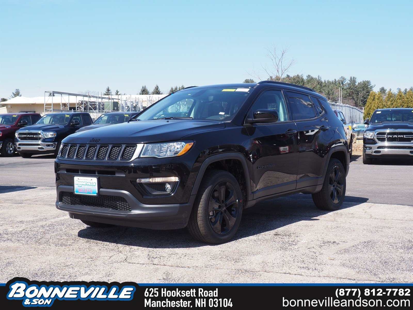 New 2019 Jeep Compass ALTITUDE 4X4 Sport Utility in Manchester, NH