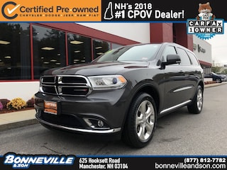 Certified Pre-Owned 2015 Dodge Durango Limited SUV in Manchester, NH