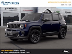 New 2021 Jeep Renegade 80TH ANNIVERSARY 4X4 Sport Utility for sale in Manchester, NH