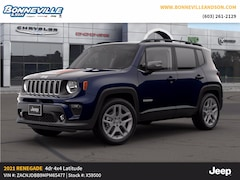 New 2021 Jeep Renegade ISLANDER 4X4 Sport Utility for sale in Manchester, NH