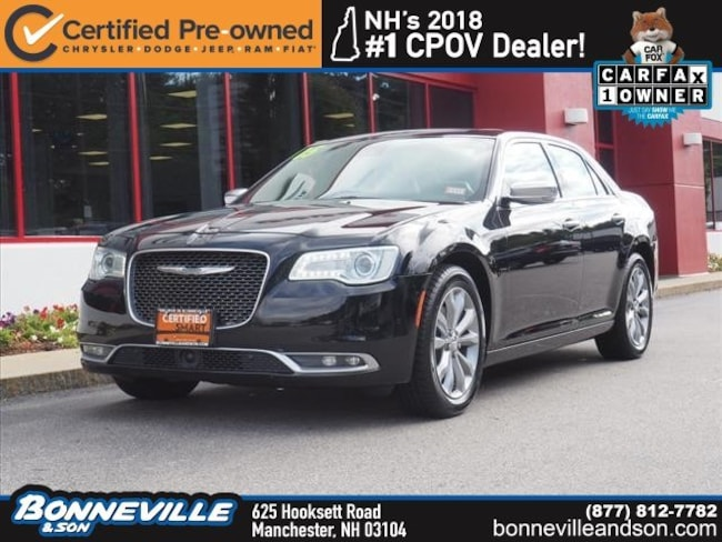 Certified Pre-Owned 2015 Chrysler 300C 300C Platinum Sedan in Manchester, NH