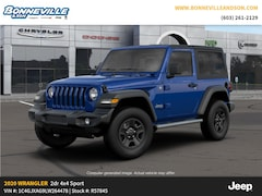 New 2020 Jeep Wrangler SPORT 4X4 Sport Utility in Manchester, NH