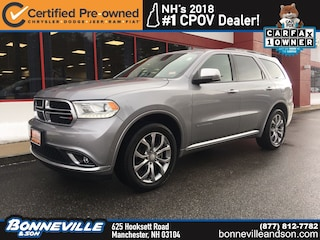 Certified Pre-Owned 2018 Dodge Durango Citadel Anodized Platinum SUV in Manchester, NH
