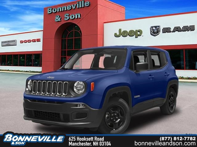 New 2018 Jeep Renegade LATITUDE 4X4 Sport Utility in Manchester, NH