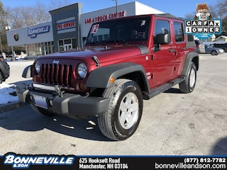 Used 2012 Jeep Wrangler Unlimited Sport SUV in Manchester, NH
