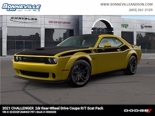 New 2021 Dodge Challenger R/T SCAT PACK WIDEBODY Coupe in Manchester, NH