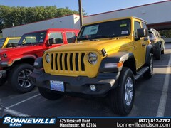 New 2019 Jeep Wrangler SPORT S 4X4 Sport Utility in Manchester, NH