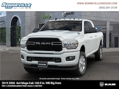 New 2019 Ram 2500 BIG HORN MEGA CAB 4X4 6'4 BOX Mega Cab in Manchester, NH