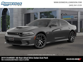 New 2019 Dodge Charger R/T SCAT PACK RWD Sedan in Manchester, NH