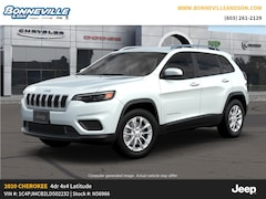 New 2020 Jeep Cherokee LATITUDE 4X4 Sport Utility for sale in Manchester, NH