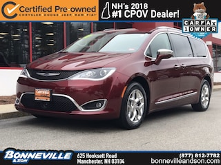 Certified Pre-Owned 2017 Chrysler Pacifica Limited Van in Manchester, NH