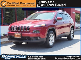 Certified Pre-Owned 2015 Jeep Cherokee Latitude SUV in Manchester, NH