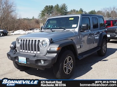 New 2018 Jeep Wrangler UNLIMITED SPORT S 4X4 Sport Utility in Manchester, NH