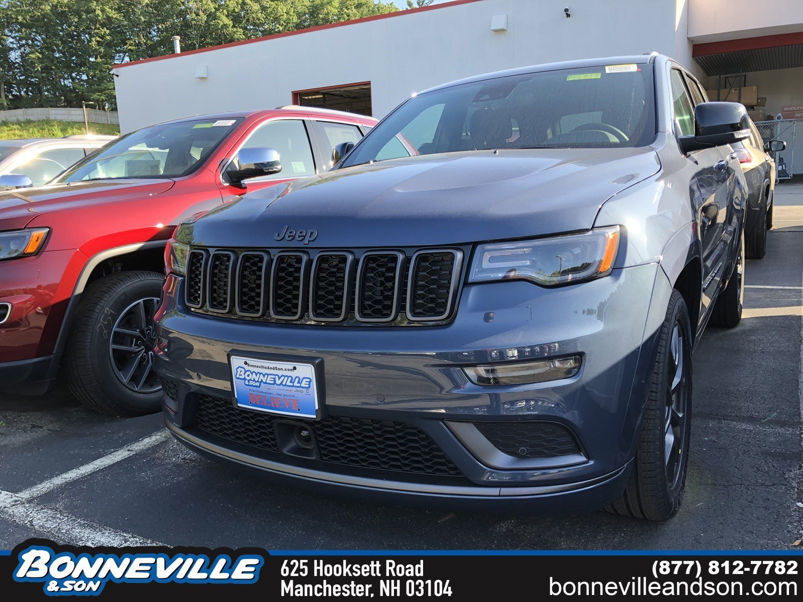 New 2020 Jeep Grand Cherokee LIMITED X 4X4 Sport Utility in Manchester, NH
