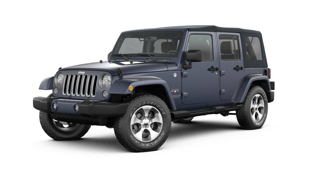 New 2017 Jeep Wrangler JK UNLIMITED SAHARA 4X4 Sport Utility in Manchester, NH